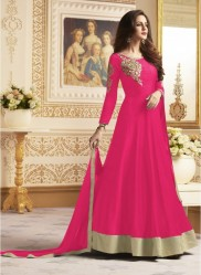 Pink Banglori  Ankle-Length Readymade Suits